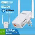 Kích sóng wifi Totolink EX200 2 anten