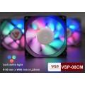Fan case 8cm LED RGB